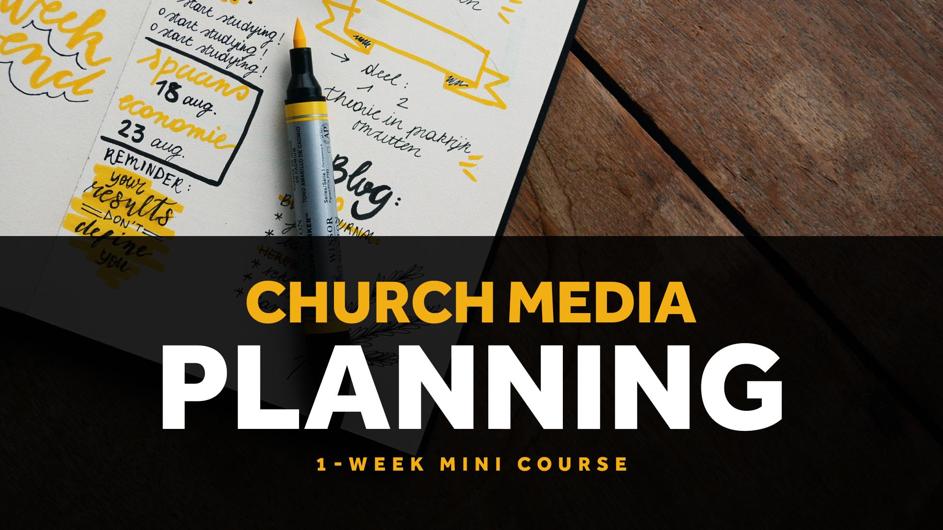 Pro Church Media University | Courses