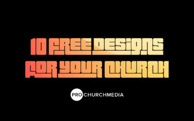 10 Free Designs for your Church