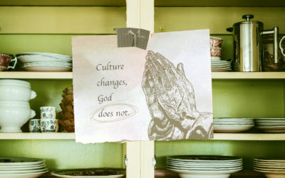 Culture Changes, God Does Not