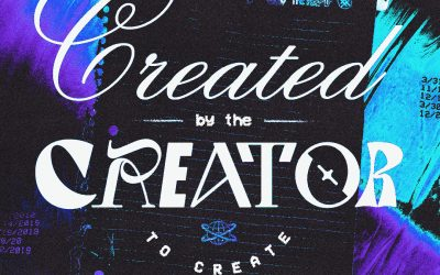 Created By The Creator To Create