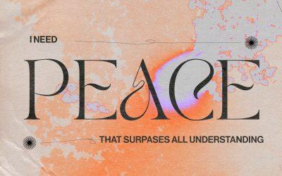 I Need Peace
